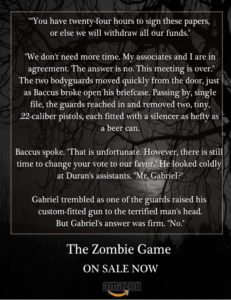 The Zombie Game teaser